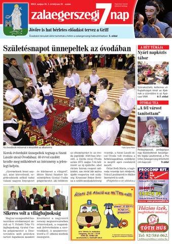 Zalaegerszegi 7 nap 22 hét by Zoltán Molnár - issuu 01a56161a5
