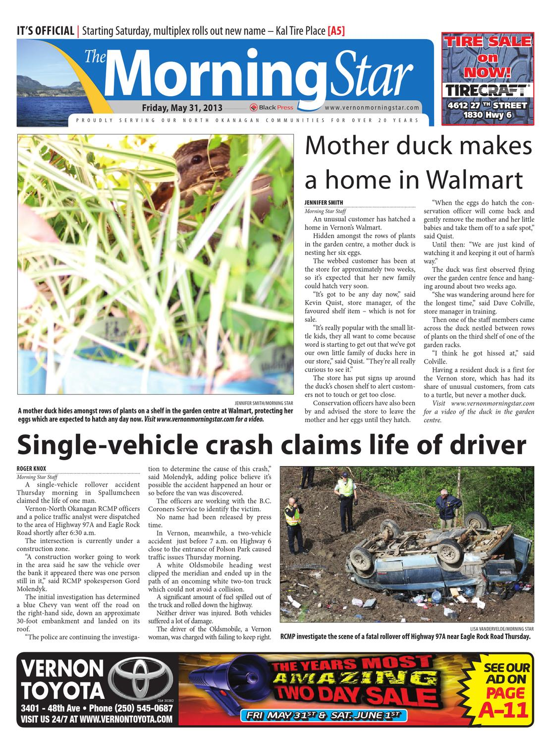 Vernon Morning Star May 31 2013 By Black Press Media Group Issuu