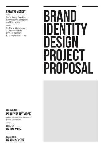 Brand Identity Proposal By Luthfie Saja Issuu
