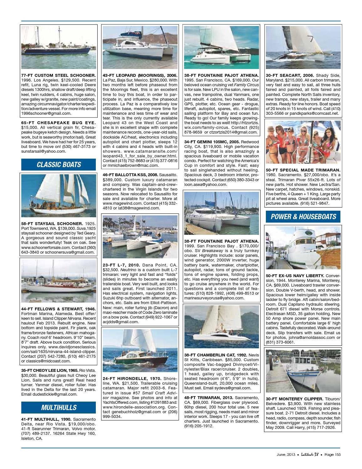 Latitude 38 June 2013 by Latitude 38 Media, LLC issuu