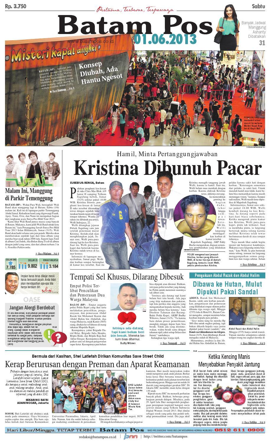 1 Juni 2013 by Batampos Newspaper - issuu f679b0bb55