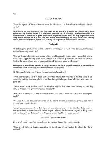 The Spirits Book Allan Kardec