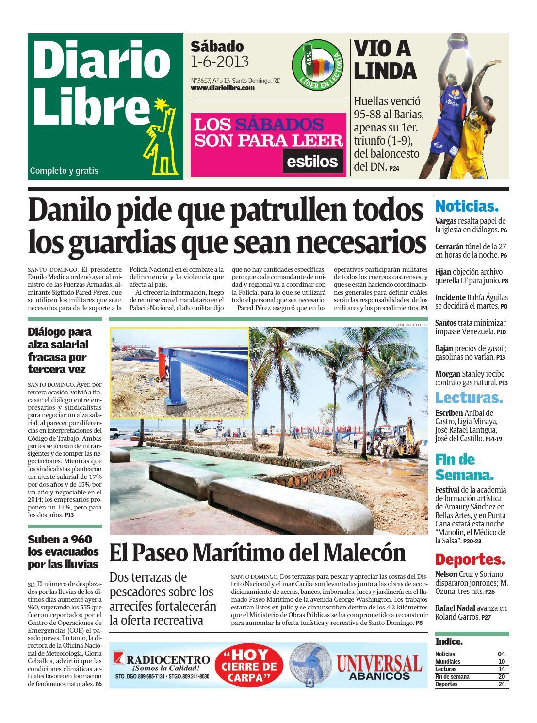 Diariolibre3657 by Grupo Diario Libre, S. A. - issuu