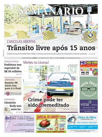 01 06 2013 - Jornal Semanário - Edição 2930 by Jornal Semanário ... f22cda0e14