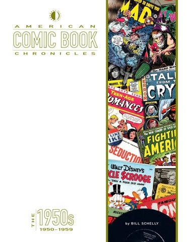 American Comic Book Chronicles The 1950s By Twomorrows Publishing