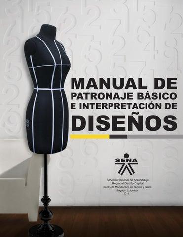 manual de patronaje basico e interpretacion de diseños pdf descargar