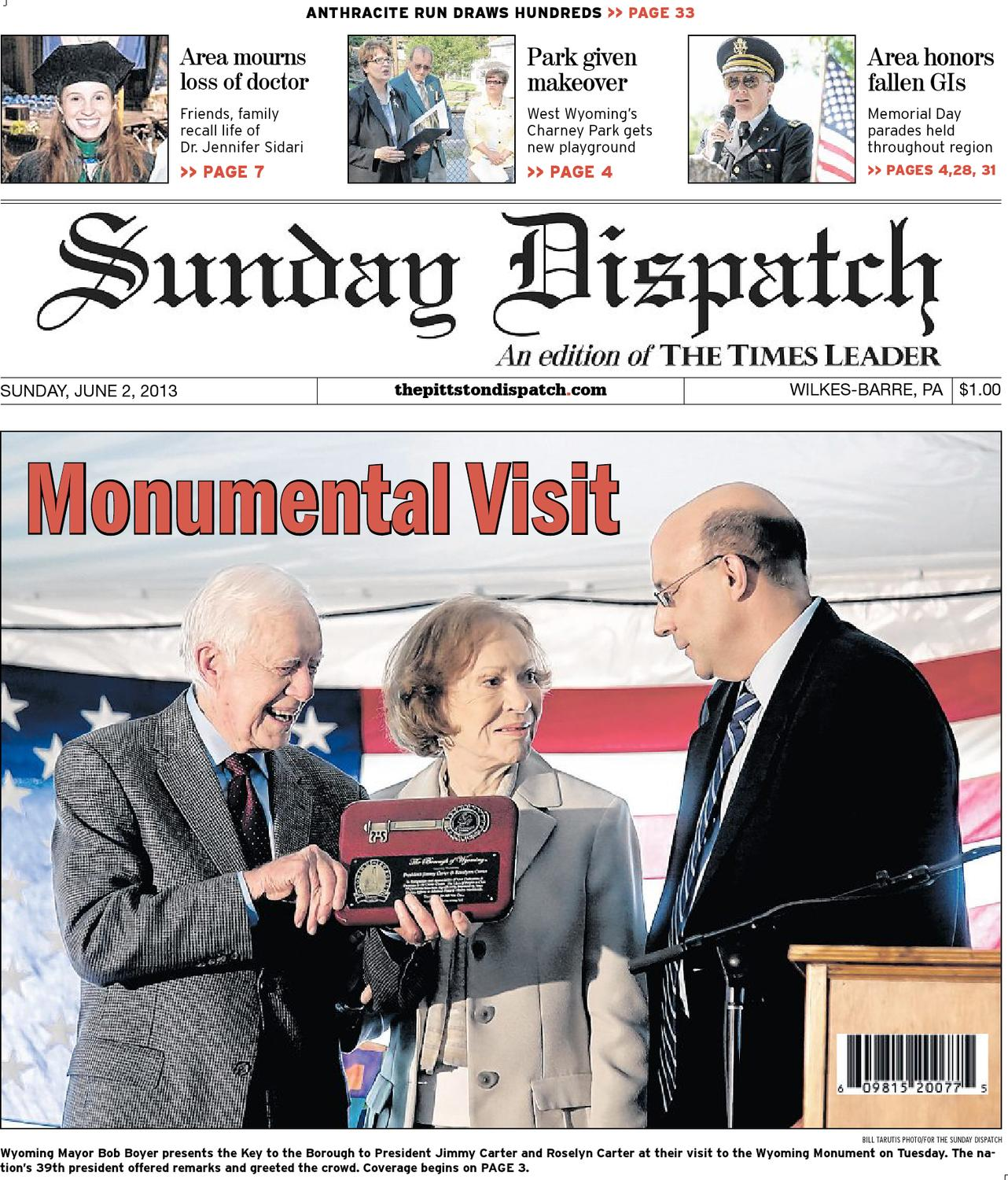 543ade5e8 The Pittston Dispatch 06-02-2013 by The Wilkes-Barre Publishing Company -  issuu