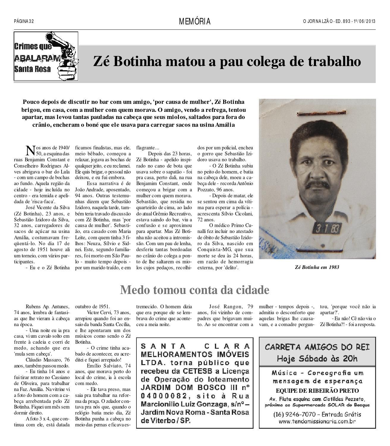 O Jornalzão, edição 893 by O Jornalzão - issuu