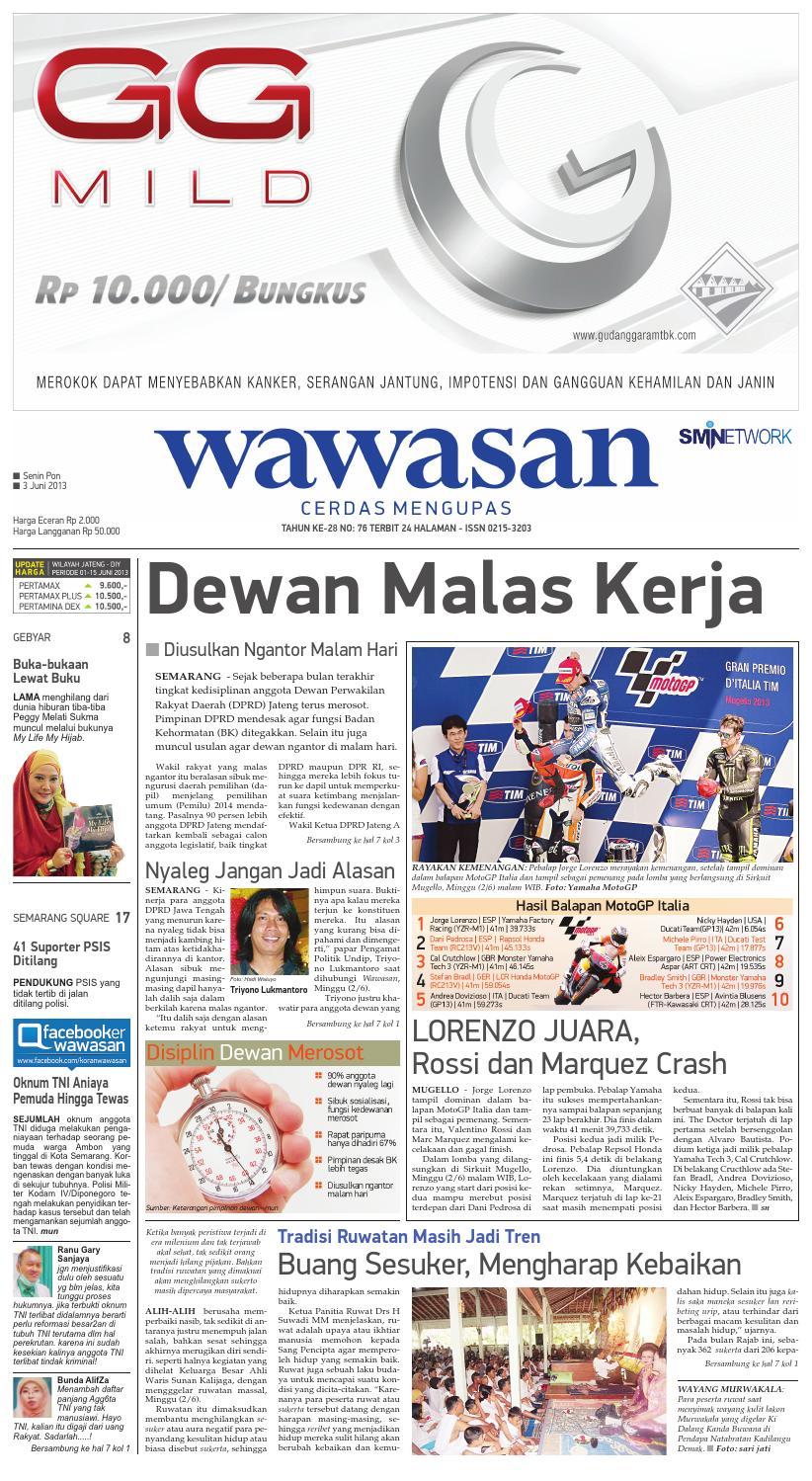 WAWASAN 03 Juni 2013 by KORAN PAGI WAWASAN - issuu c3c81f1b03