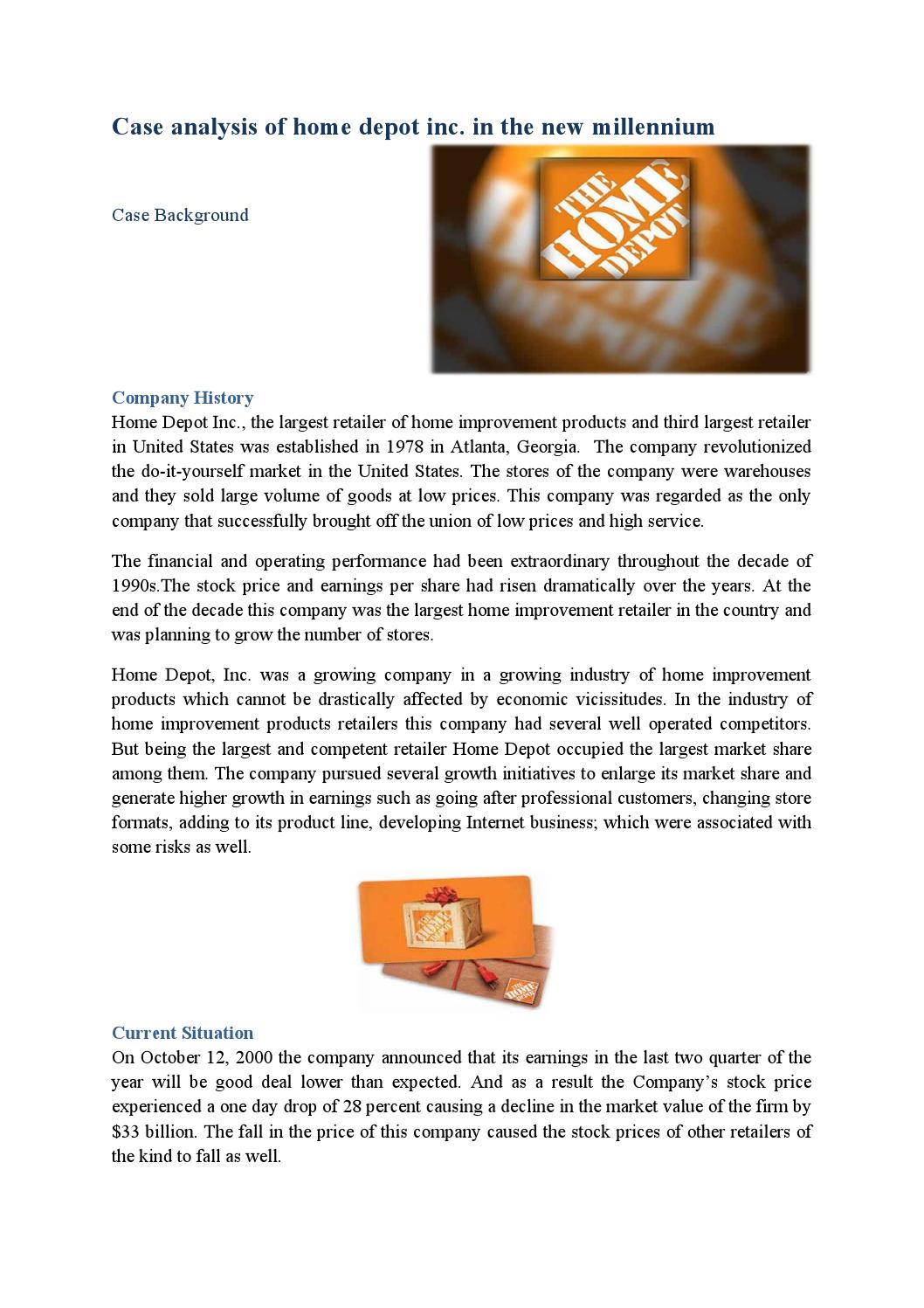 the home depot pdf