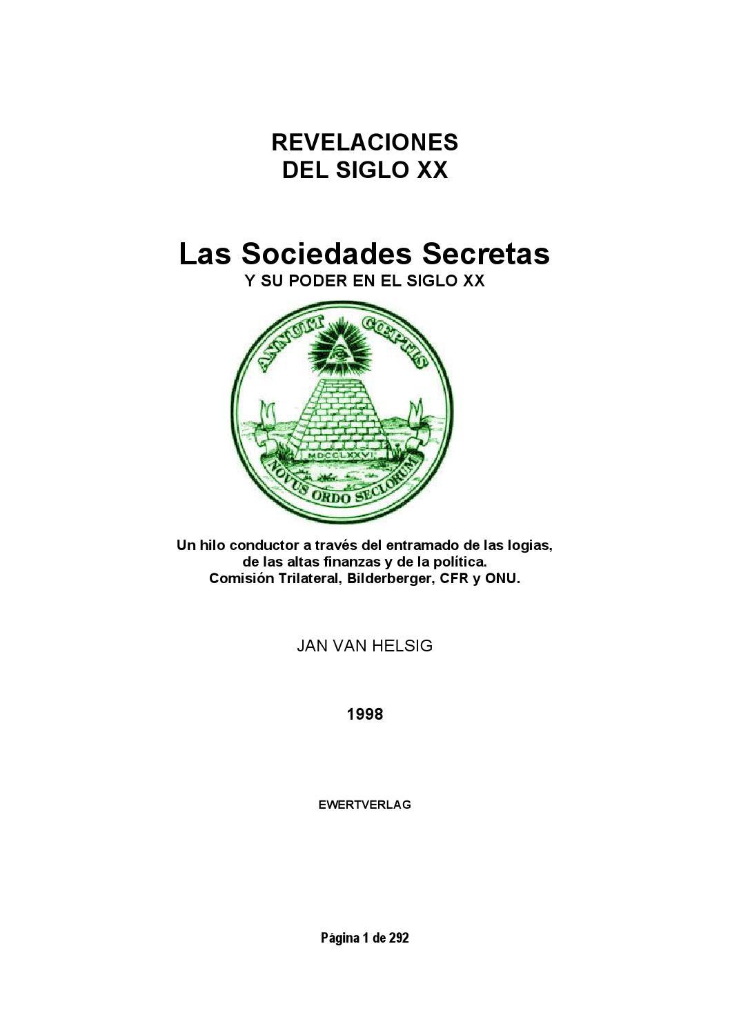 Sociedades secretas by Jose Garcia - issuu