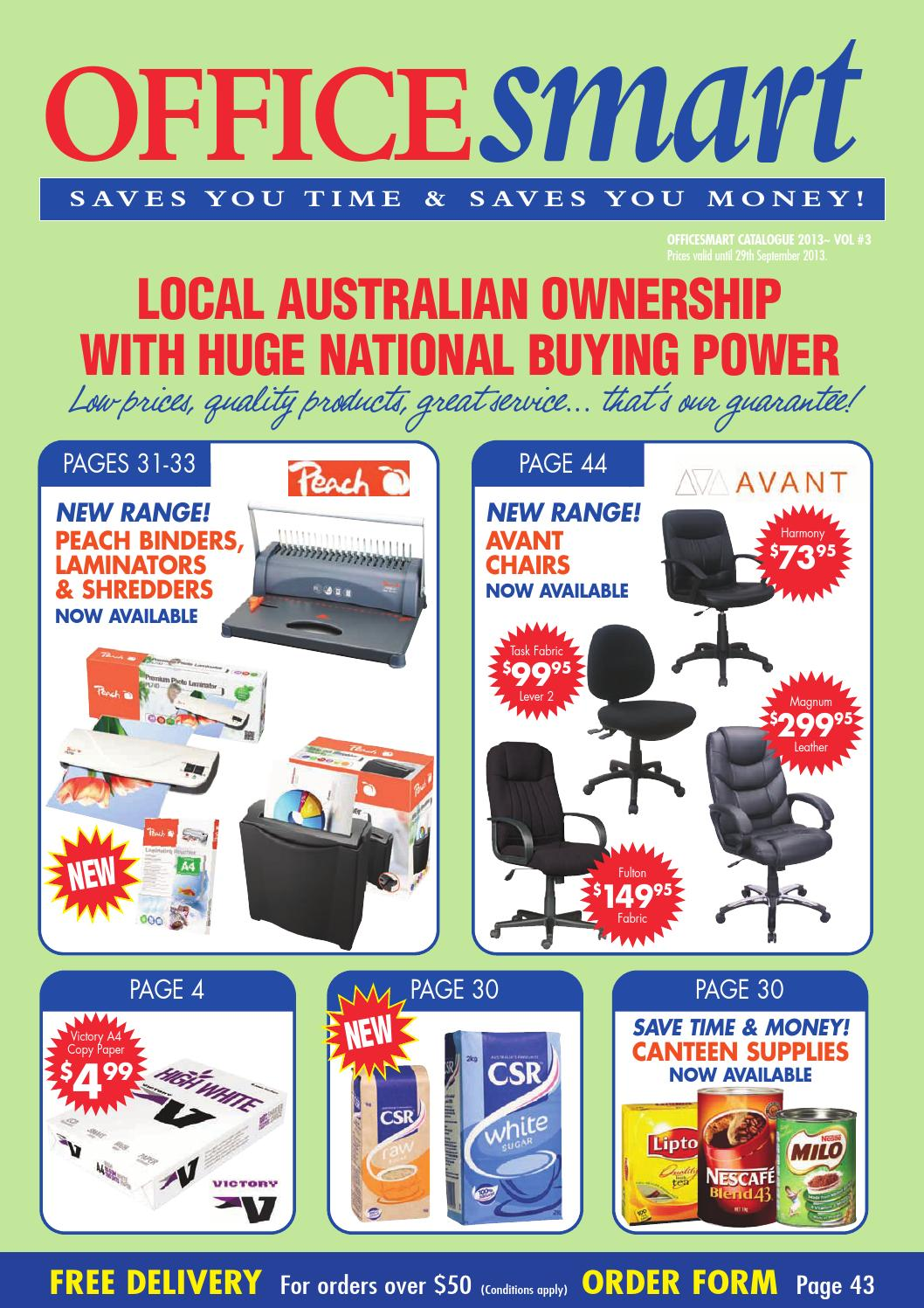 Officesmart Brochure 3 2013 By Group Newsagency Supplies Issuu Tinta Hp 60 Black Cc640wa Original