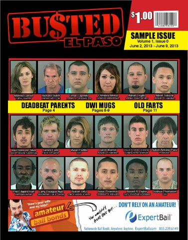 Busted in El Paso - Preview Issue by Busted in El Paso - issuu