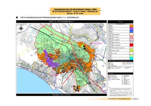 Rancangan tempatan daerah alor gajah by uppjpbd issuu cadangan kelas kegunaan tanah 2020 blok perancangan 7 kuala linggi pengkalan balak tg tuan ccuart Gallery