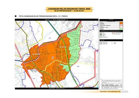 Rancangan tempatan daerah alor gajah by uppjpbd issuu cadangan kelas kegunaan tanah 2020 blok perancangan 1 alor gajah ccuart Gallery