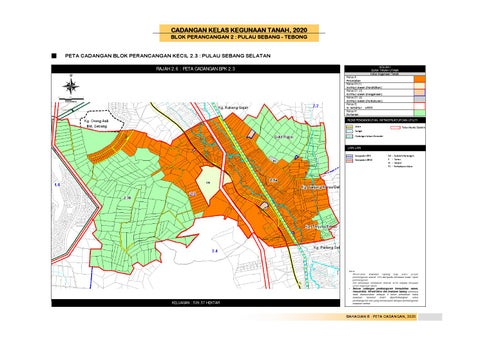 Rancangan tempatan daerah alor gajah by uppjpbd issuu cadangan kelas kegunaan tanah 2020 blok perancangan 2 pulau sebang tebong peta cadangan blok perancangan kecil 23 pulau sebang selatan kolum i guna ccuart Gallery