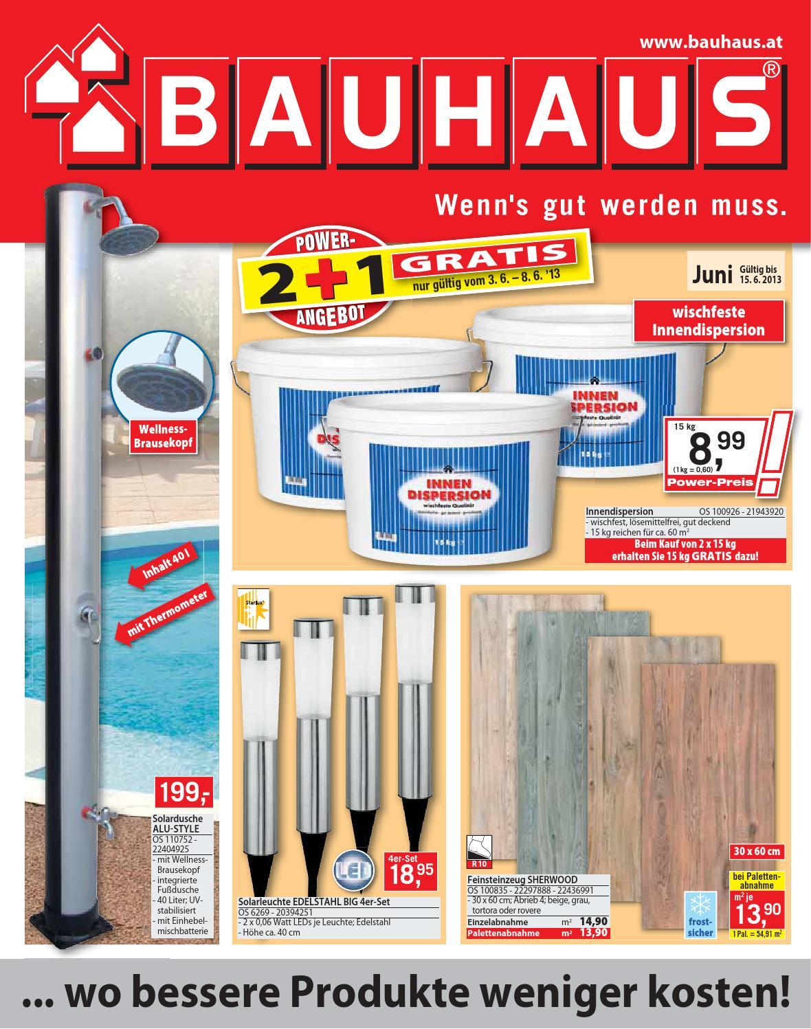 bauhaus 03 06 15 06 by aktionsfinder gmbh issuu. Black Bedroom Furniture Sets. Home Design Ideas
