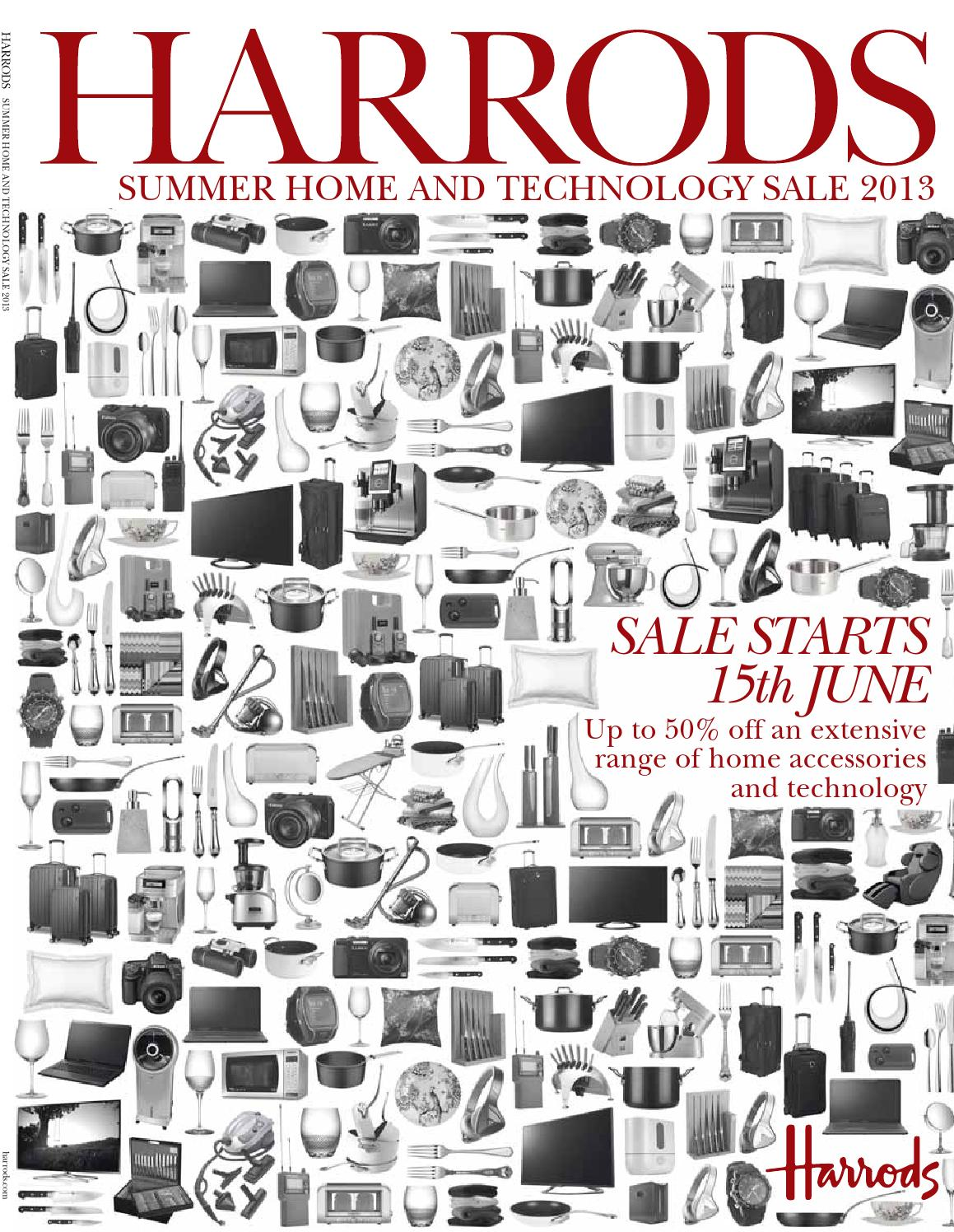 Summer Home & Technology Sale 2013 by Harrods online - issuu