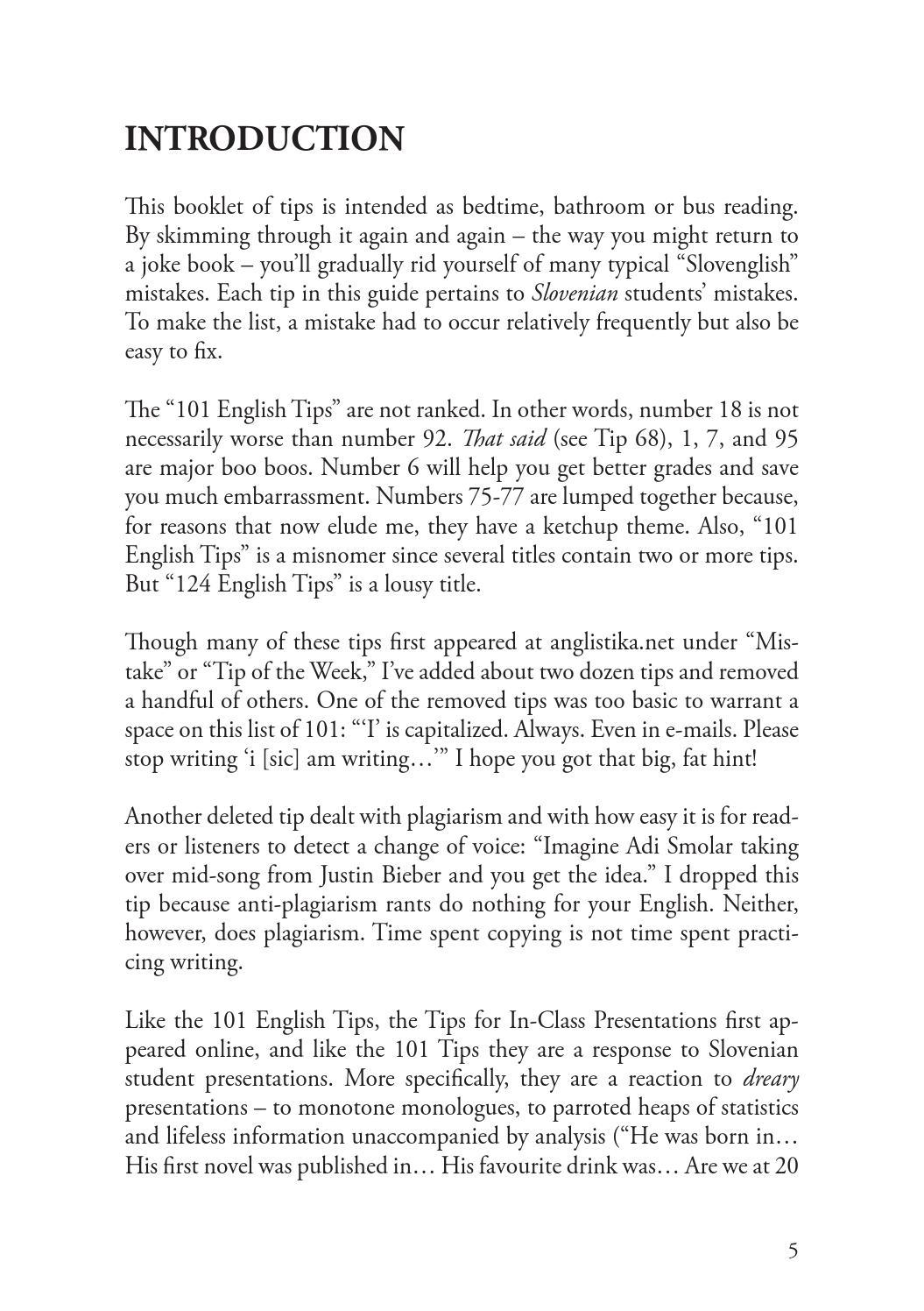 101 english tips by Znanstvena zalozba FF - issuu