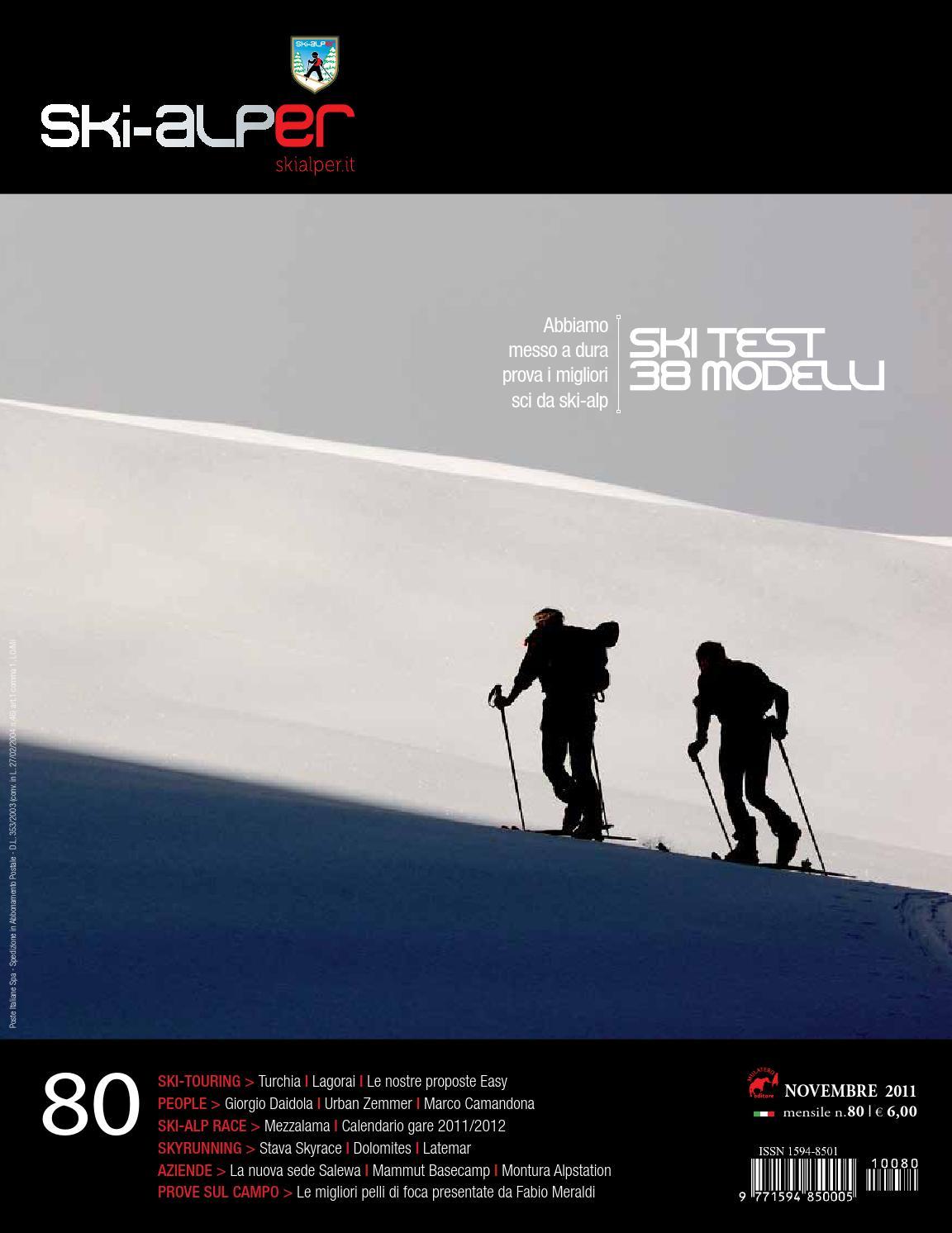 45757e27cf Ski-alper 80 by Mulatero Editore - issuu