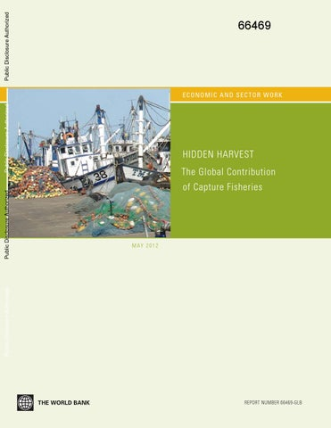 hidden harvest the global contribution of capture fisheries by open
