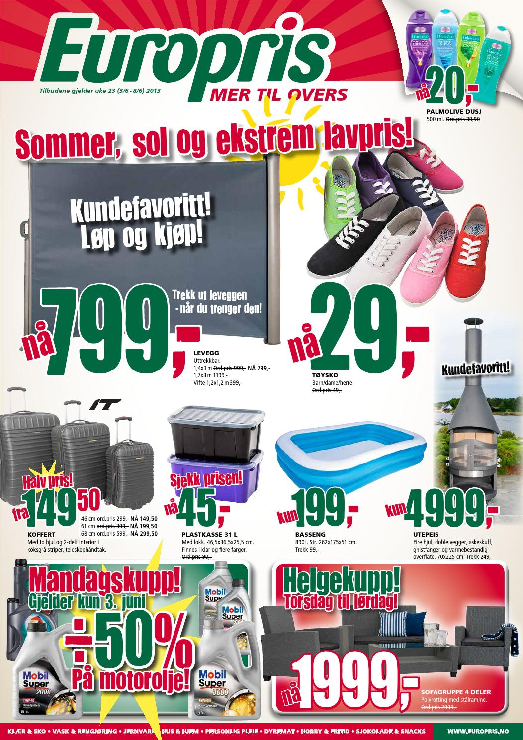 Europris Tom 8juni By Postkassereklame No Issuu
