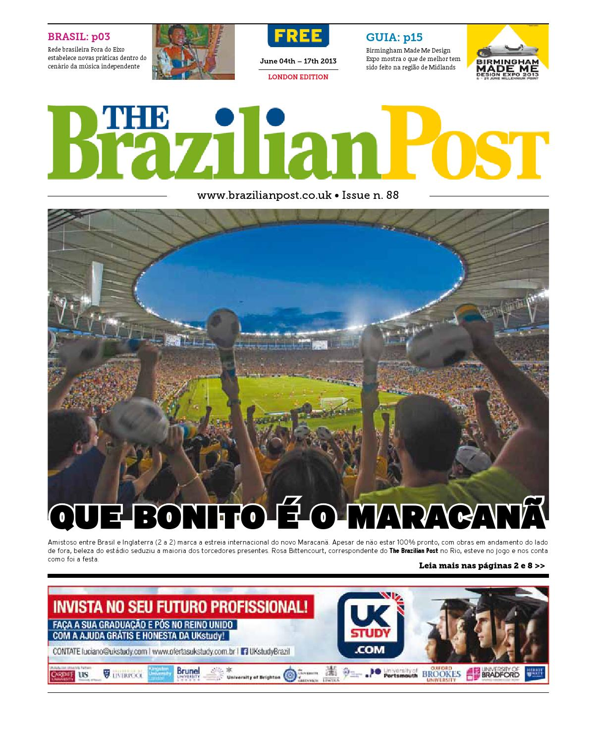 24095312b7ee5 The Brazilian Post - Issue 88 - Portuguese by The Brazilian Post - issuu