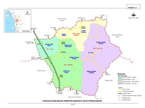 Rancangan Tempatan Daerah Pendang 2006 2020 By Uppjpbd Issuu