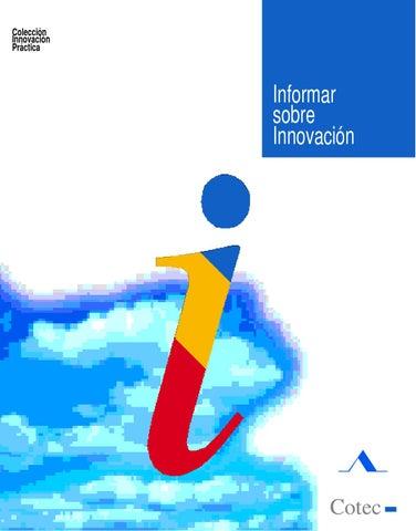 38bc4d53c3ec Informar la innovacion. Fundacion COTEC by Agencia Canaria de ...