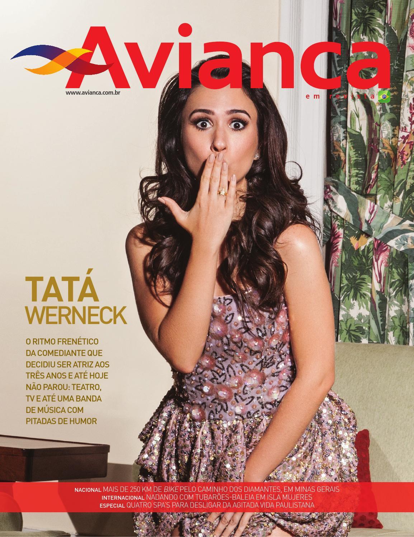 35 - Tatá Werneck by Avianca em Revista - issuu 4a07ee4b85