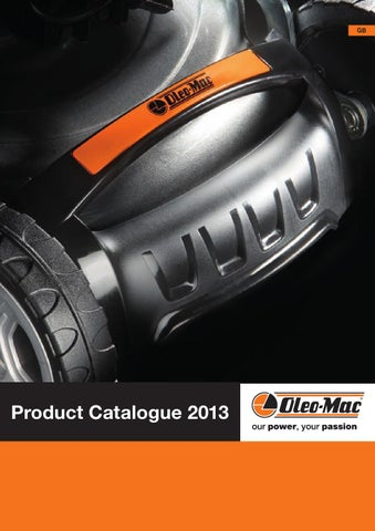 Oleo-Mac - Product Catalogue Retail 2013 by Emak Spa - issuu 2349e4c727e