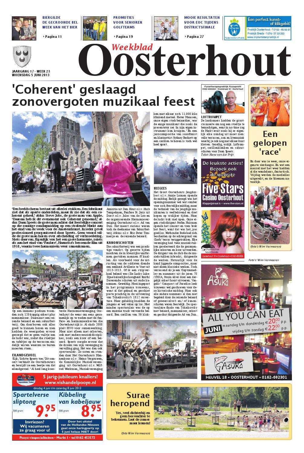 Dorst Glas En Slotenservice.Weekblad Oosterhout 05 06 2013 By Uitgeverij Em De Jong Issuu