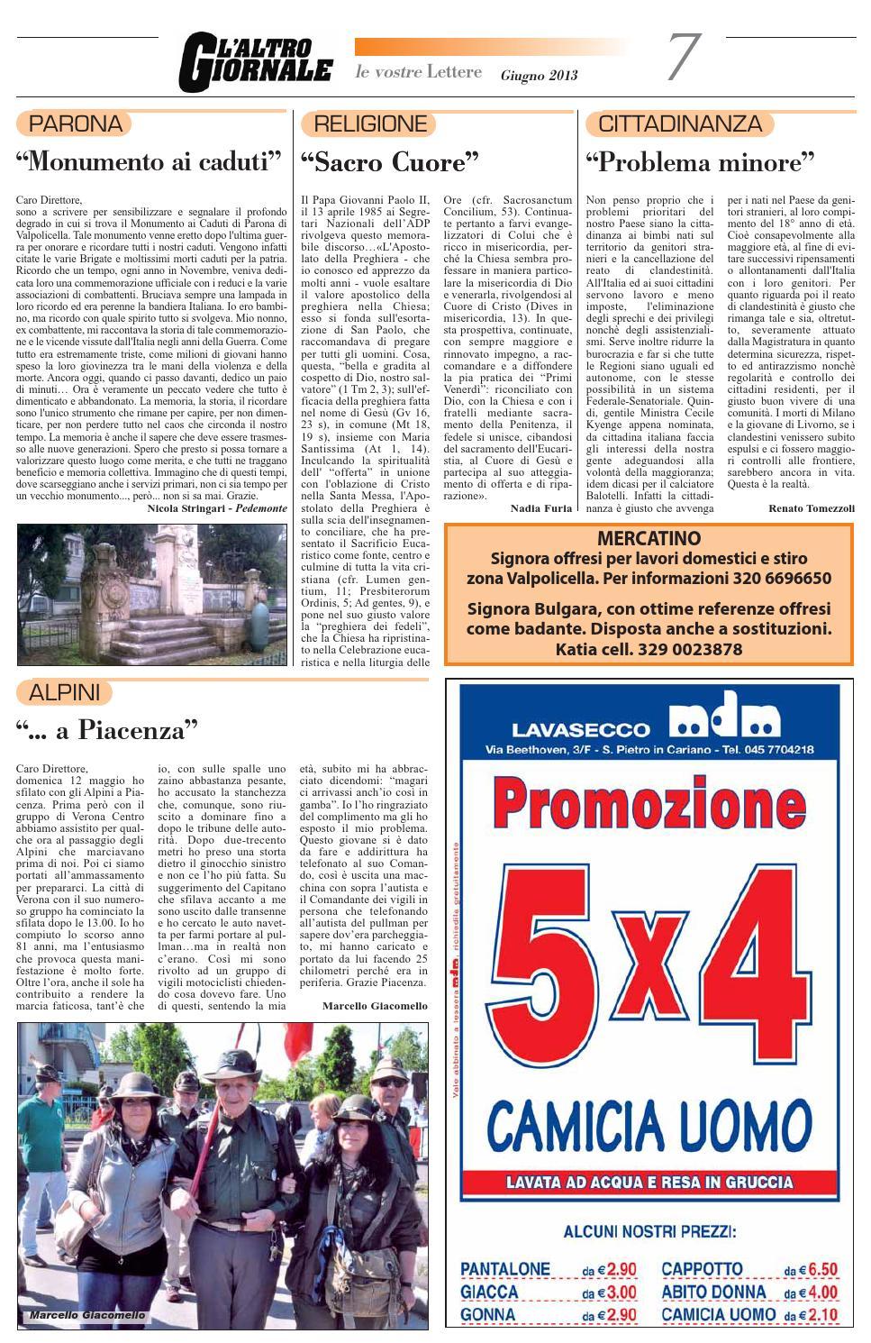 Giornale Valpolicella Giugno by IsCharlie issuu
