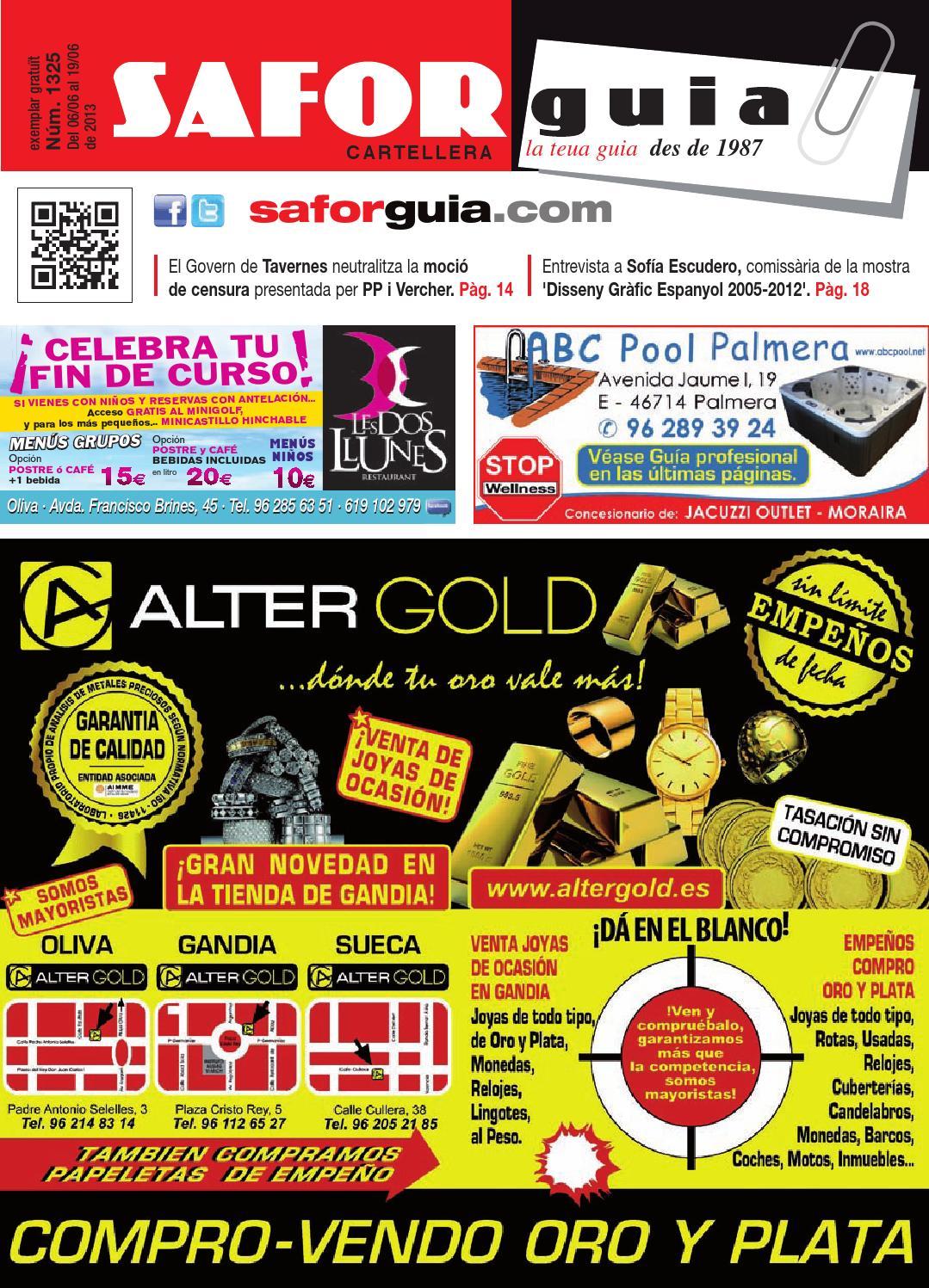 Publicaci N 6 De Junio Al 19 De Junio De 2013 By Saforguia  # Muebles Peiro Quart De Poblet
