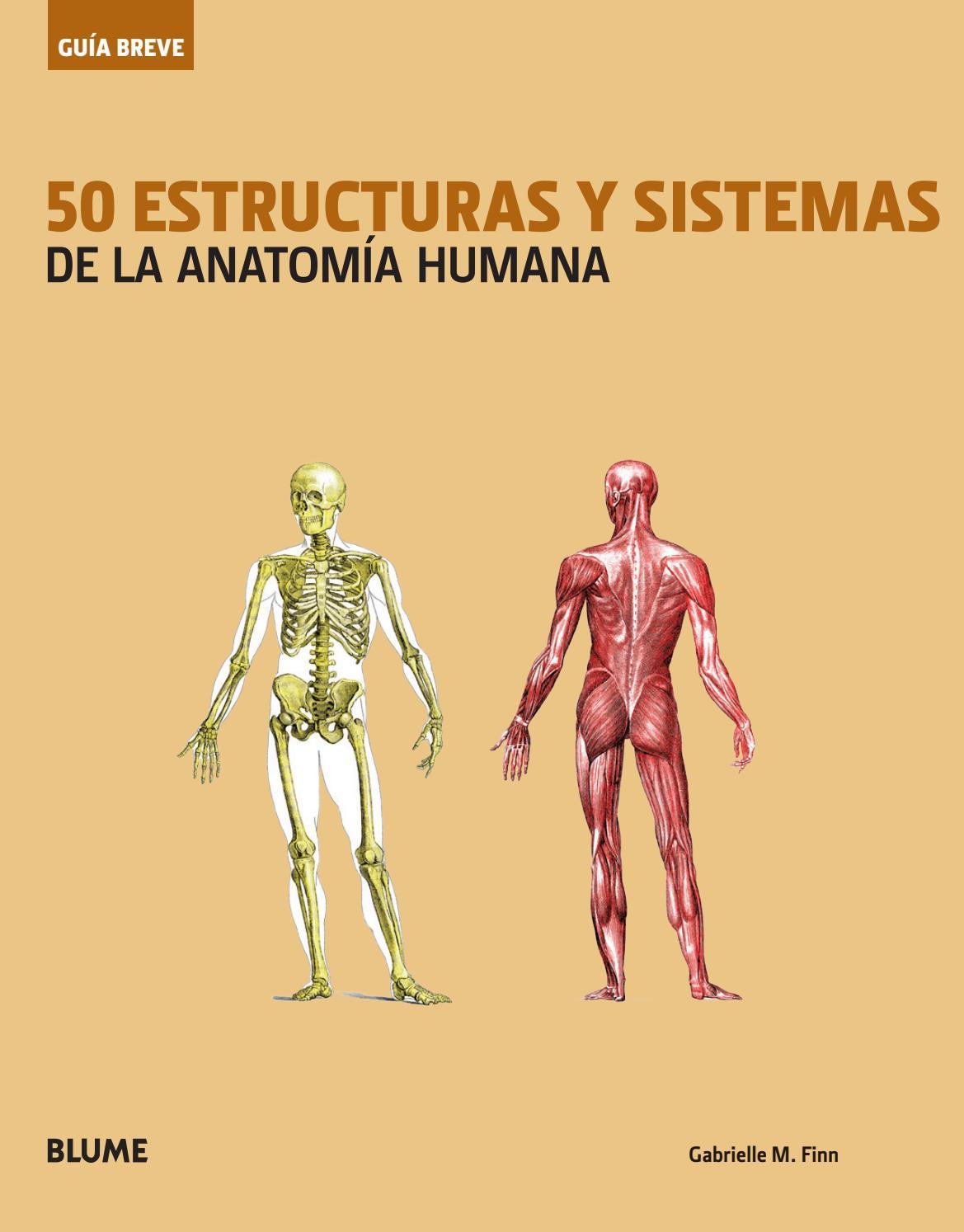 50 estructuras y sistemas de la anatomia humana by Editorial Blume ...