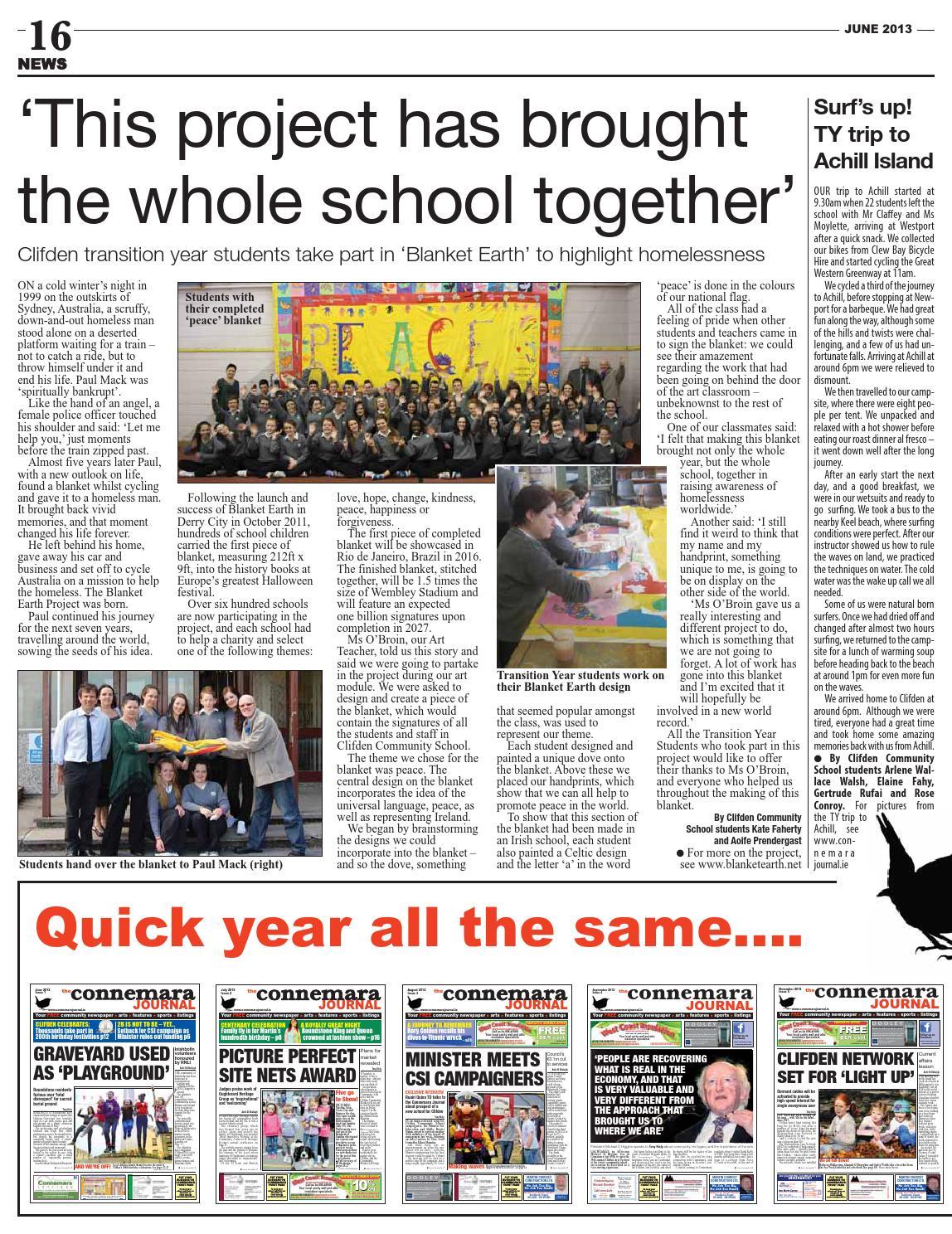 Connemara Journal, June 2013 (issue 11) by Connemara Journal