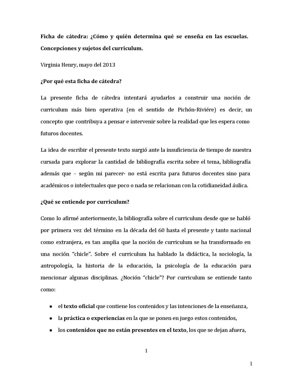 Henrycurriculum completo by Virginia Conhache - issuu