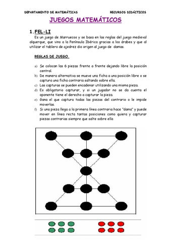 Juegos Matematicos By Julia Aguilar Issuu