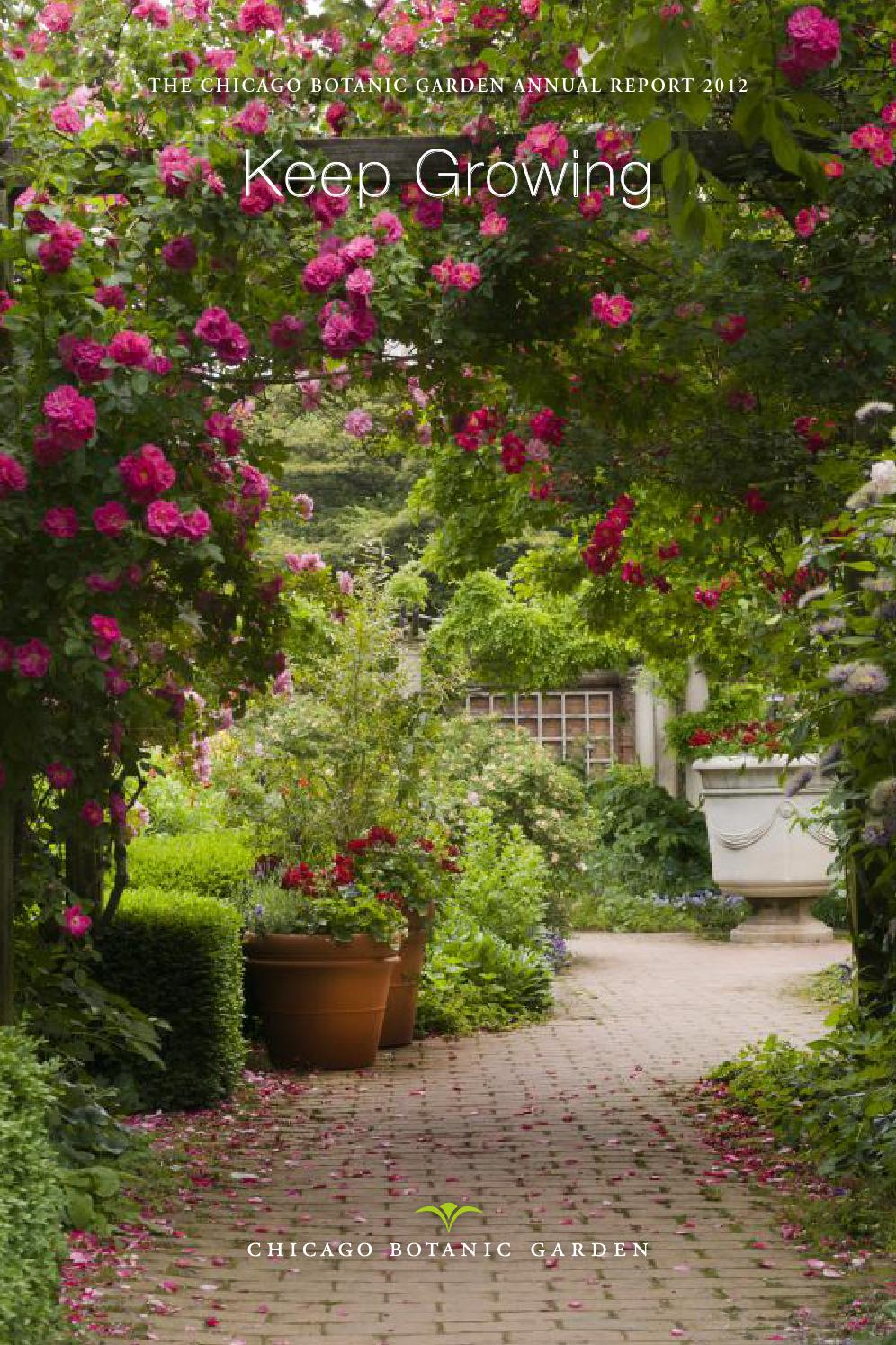 Annual report 2012 by chicago botanic garden issuu for Chicago botanic garden membership