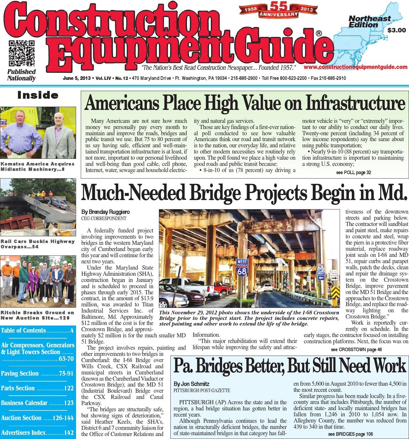 Northeast 12 2013 By Construction Equipment Guide Issuu Crane Ignition Wiring Diagram T300 Kenworth