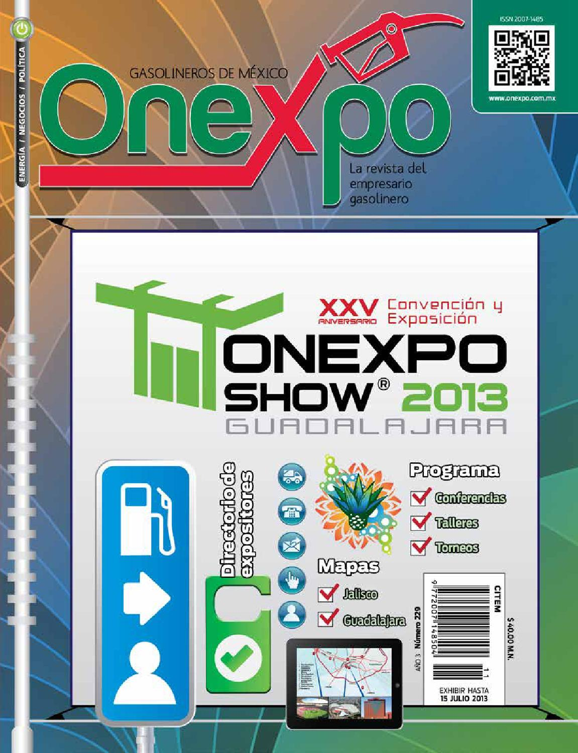 on sale 3354d f64db Revista Onexpo Nacional Num. 229 by Onexpo Nacional AC - issuu