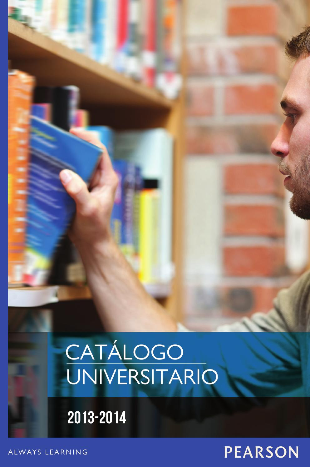 Catalogo Universitario 2013- 2014 by Pearson | México - issuu