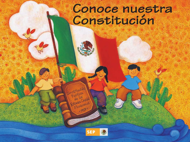 Conoce Nuestra Constitución 4o. Grado by Rarámuri - issuu