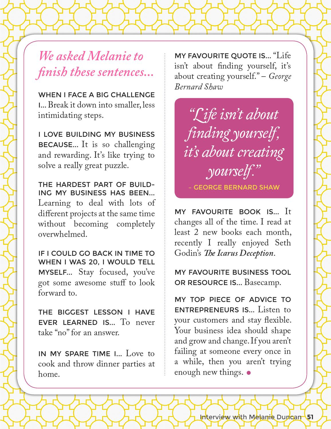 This Girl Means Business - Issue 11 by Female Entrepreneur ...