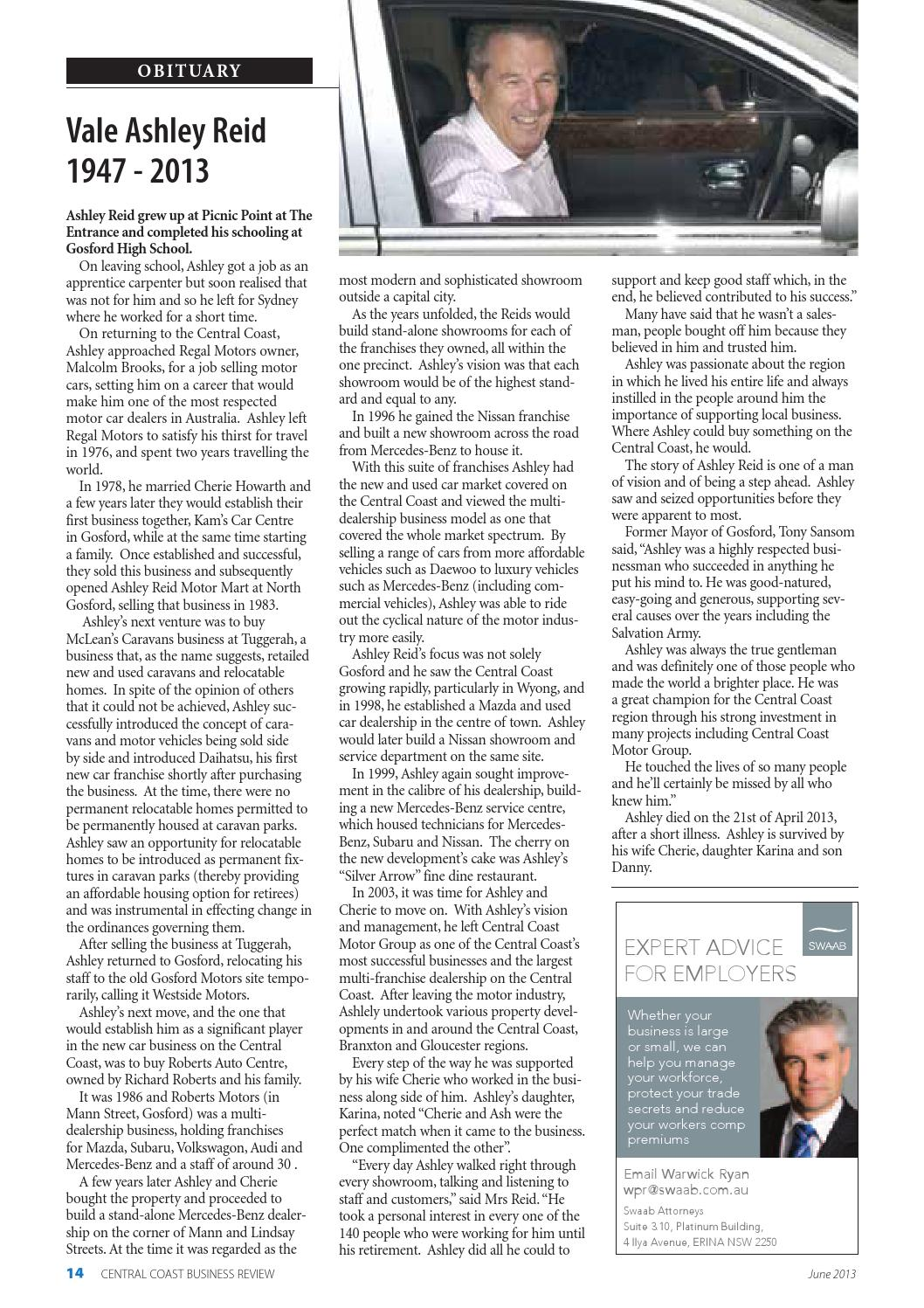 Central Coast Business Review June 2013 by Central Coast