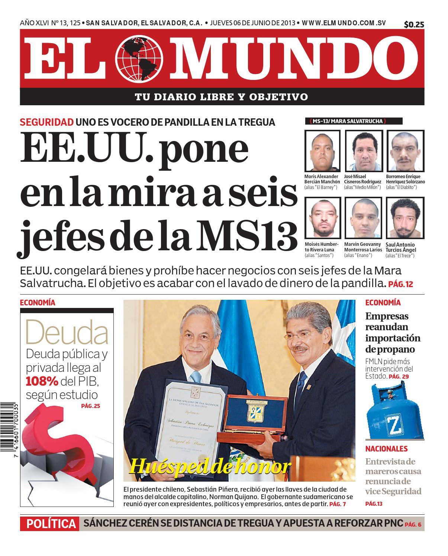 Mundo060613 by Diario El Mundo - issuu