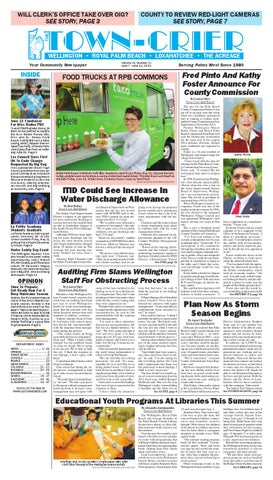 Town Crier Newspaper June 7 2013 By Wellington The
