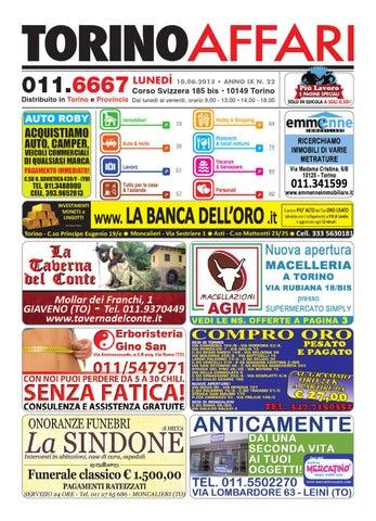 Torino affari free 22 del 10 06 2013 by Torino Affari - issuu 02280d601fc