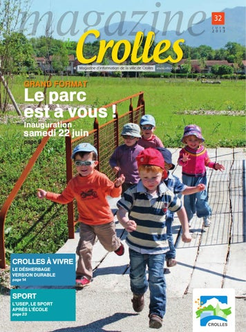 Juin 2013 magazine de crolles by ville de crolles issuu for Piscine de crolles