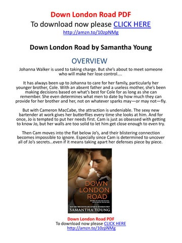 Down London Road Samantha Young Pdf
